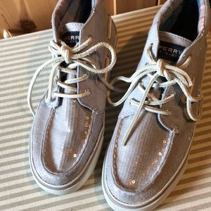 Sperry hightop shoes